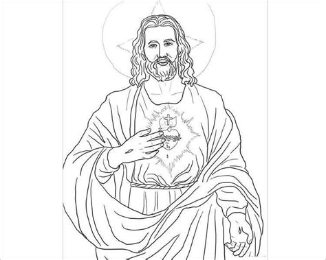 template of jesus 43 templates for print free word designs