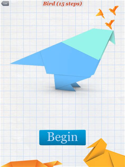 How To Make Bird With Paper Step By Step - how to make origamiipad app finders