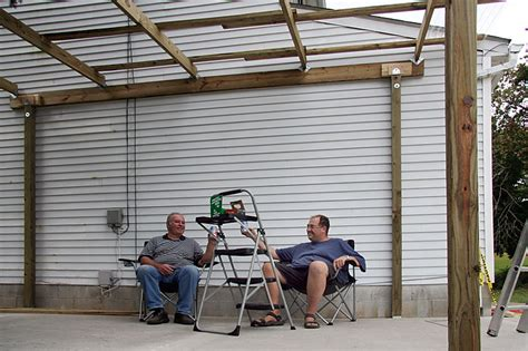 how to build a carport plans woodguides