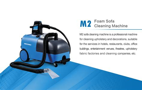 m2 foam vacuum upholstery sofa cleaning machine view