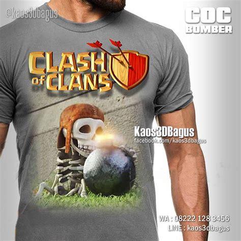 Kaos Clash Of Clan Golem By Crion kaos 3d bagus kaos 3d kaos 3 dimensi kaos 3d umakuka