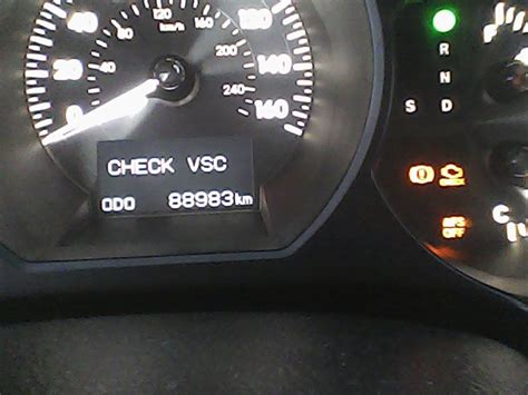 lexus check vsc reset vsc check light on camry autos post