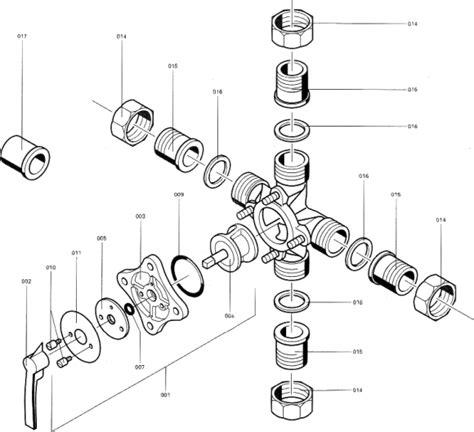 Mischer Heizung Funktion by Spezial Heizungsmischer 4 R1 7338218 L 246 Bbe Gmbh