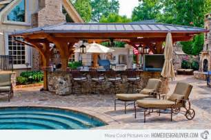 Outdoor Kitchen Designs With Pool Gallery For Gt Outdoor Kitchen With Pool