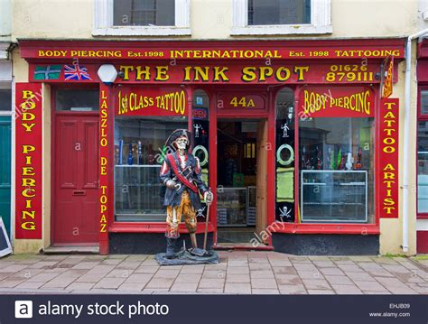 tattoo and body piercing shops the ink spot and piercing shop teignmouth