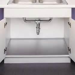 Kitchen Sink Cabinet Liner by Aluminum Under Sink Protector New Kitchen Pinterest