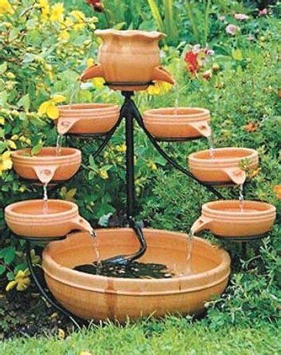 Sun Powered Cascade Fountains by Solar Powered Water Features Fountains Water Feature