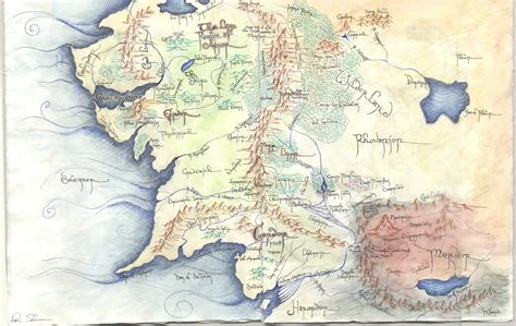 map middle earth map of middle earth wallpapers wallpaper cave
