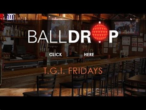 tgi fridays new years day balldrop presents new years at tgi fridays times