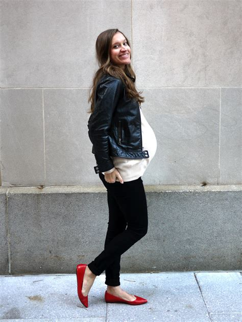 Get Ritchies Maternity Style 2 by My Fair Vanity Black Flats Baby Bump Easy