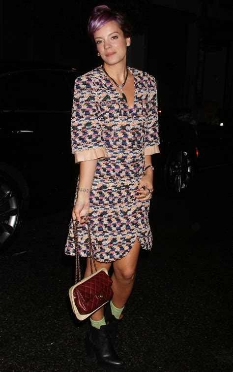 Lilly Allen For Chanel by Allen Chanel Dinner Celebrating No 5 The In