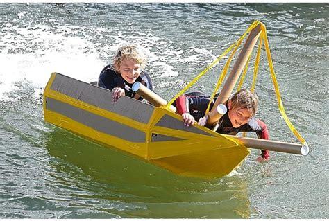 cardboard boat race plymouth imeche cardboard boat race blacktoft beacon district scouts