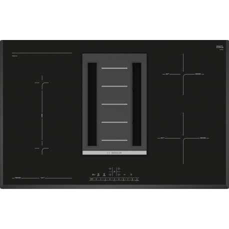 piani cottura a induzione bosch piano cottura a induzione bosch pvs851f21e 80 cm