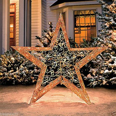 marion star christmas decoration outdoor decor collection on ebay