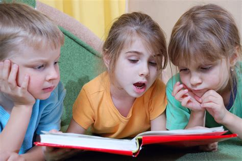pictures of students reading books supporting success for children with hearing loss self