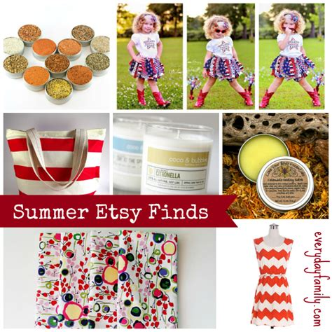 Great Blogs On Etsy Finds by Best Of Etsy Summer Finds