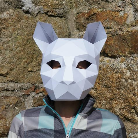 How To Make A Cat Mask Out Of Paper - masks wintercroft
