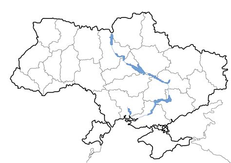 Ukraine Outline Map by File Map Of Ukraine Political Simple Blank Png