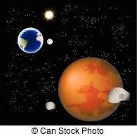 ilustraciones de vectores de sol tierra luna espacio sol tierra luna estrellas espacio luna sol contiene