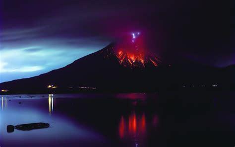 sakurajima volcano eruption lava natural disaster