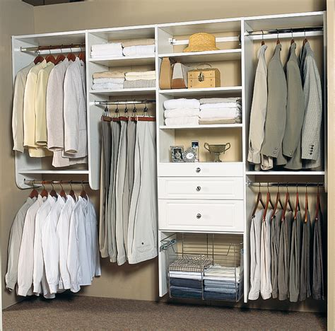 White Closet Organizer Systems Organized Interiors To Debut Sophisticated Thermofoil