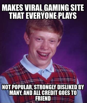 Top Meme Sites - meme creator makes viral gaming site that everyone plays