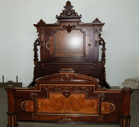 antique bedroom suites 7505 4 pc american victorian antique bedroom suite by
