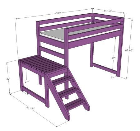 junior loft bed with stairs pinterest the world s catalog of ideas