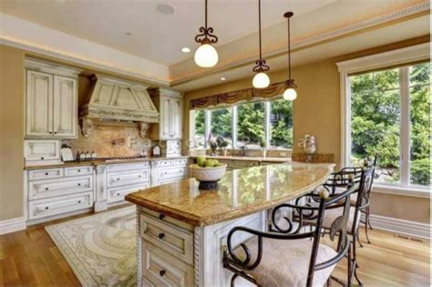 Tuscan Kitchen Countertops by Top Kitchen Countertop Materials Pros And Cons