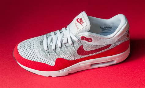 fly knit air max nike air max 1 flyknit white sole collector