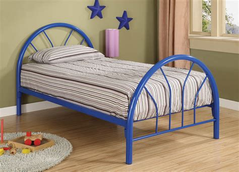 twin bed metal frame red metal twin bed frame