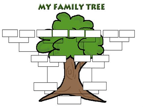 building a family tree free template the ossington kitchen growing your family tree