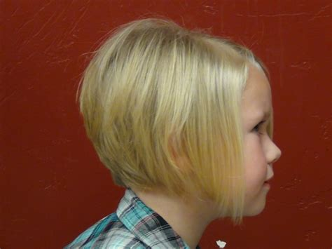 a line kid cut style a line hair cut on the cutest little girl s hair