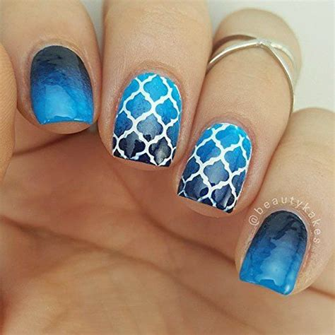 moroccan pattern nails moroccan stencils for nails quatrefoil nail stickers