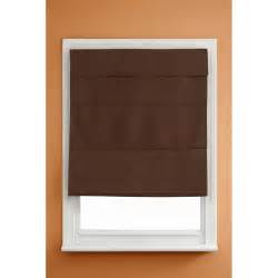 blackout mini blinds kenney cordless thermal blackout shade chocolate