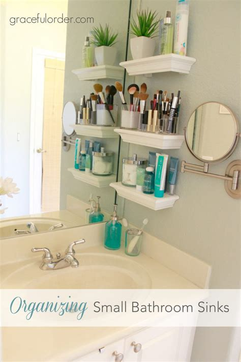bathroom shelves for small spaces hacks for living large in small spaces 2017