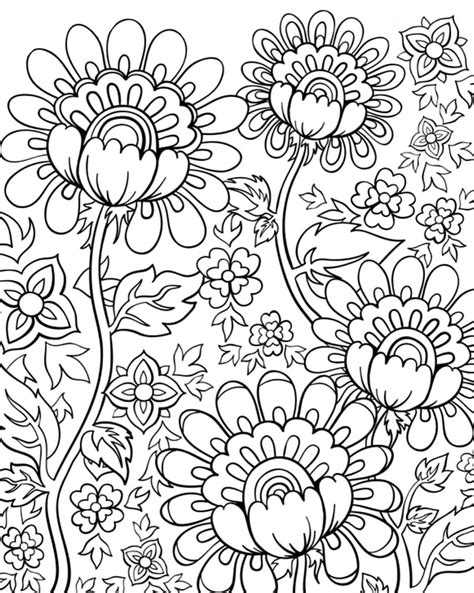 flower doodle coloring pages flower doodles doodle coloring pages
