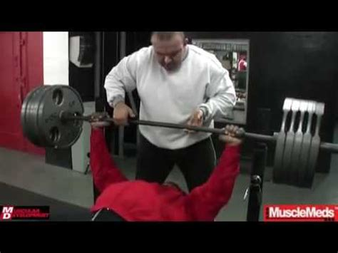 kai greene bench press kai greene training at 5th ave gym youtube