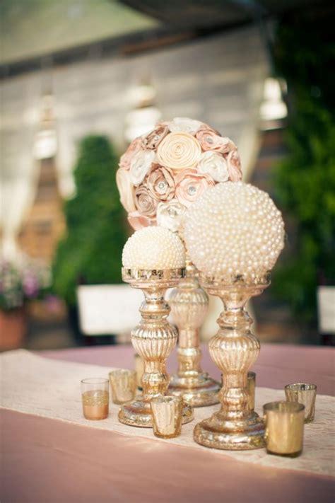pearl wedding centerpieces on pearl wedding