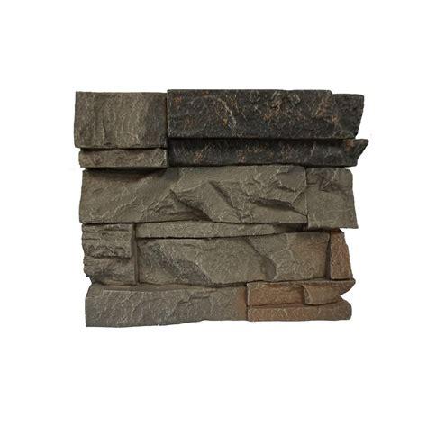 genstone stacked kenai 11 in x 11 in faux