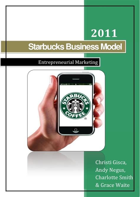 Mba In A Starbucks by Entrepreneurial Marketing Starbucks Business Model