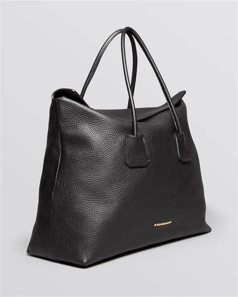 Burberry Tote by Lyst Burberry Tote Grainy Leather Large Baynard