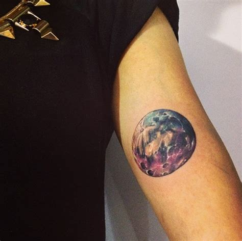 man in the moon tattoo designs the purple moon and 30 more moon tattoos
