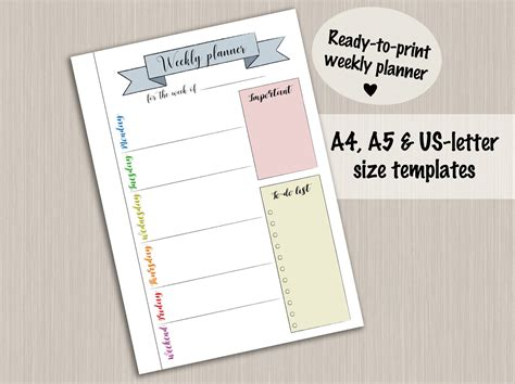 design journal pdf bullet journal printable weekly planner template for bullet