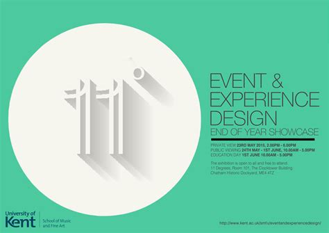 event design experience event and experience design university of kent