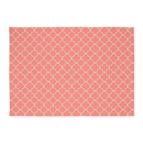 coral colored rug coral colored area rugs 28 images coral quatrefoil 5 x7 area rug by mcornwallshop coral