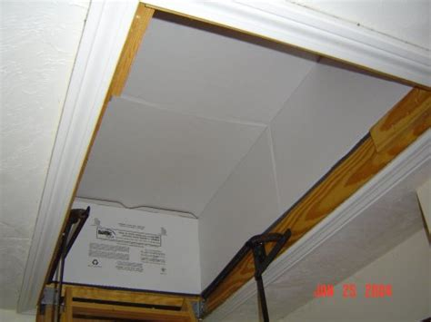 Attic Door Insulation Cover Lowes by Lowes Pull Attic Stairs