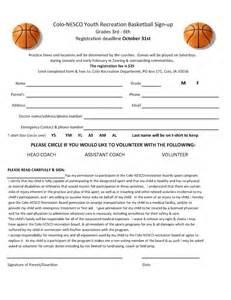 3 On 3 Basketball Tournament Registration Form Template by Youth Basketball Registration Form Template Car Interior