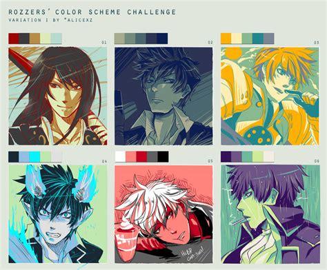 color themes deviantart color scheme challenge fan arts by ahoguu on deviantart