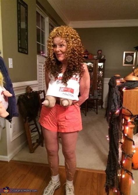 hooters girl costume   homemade  halloween